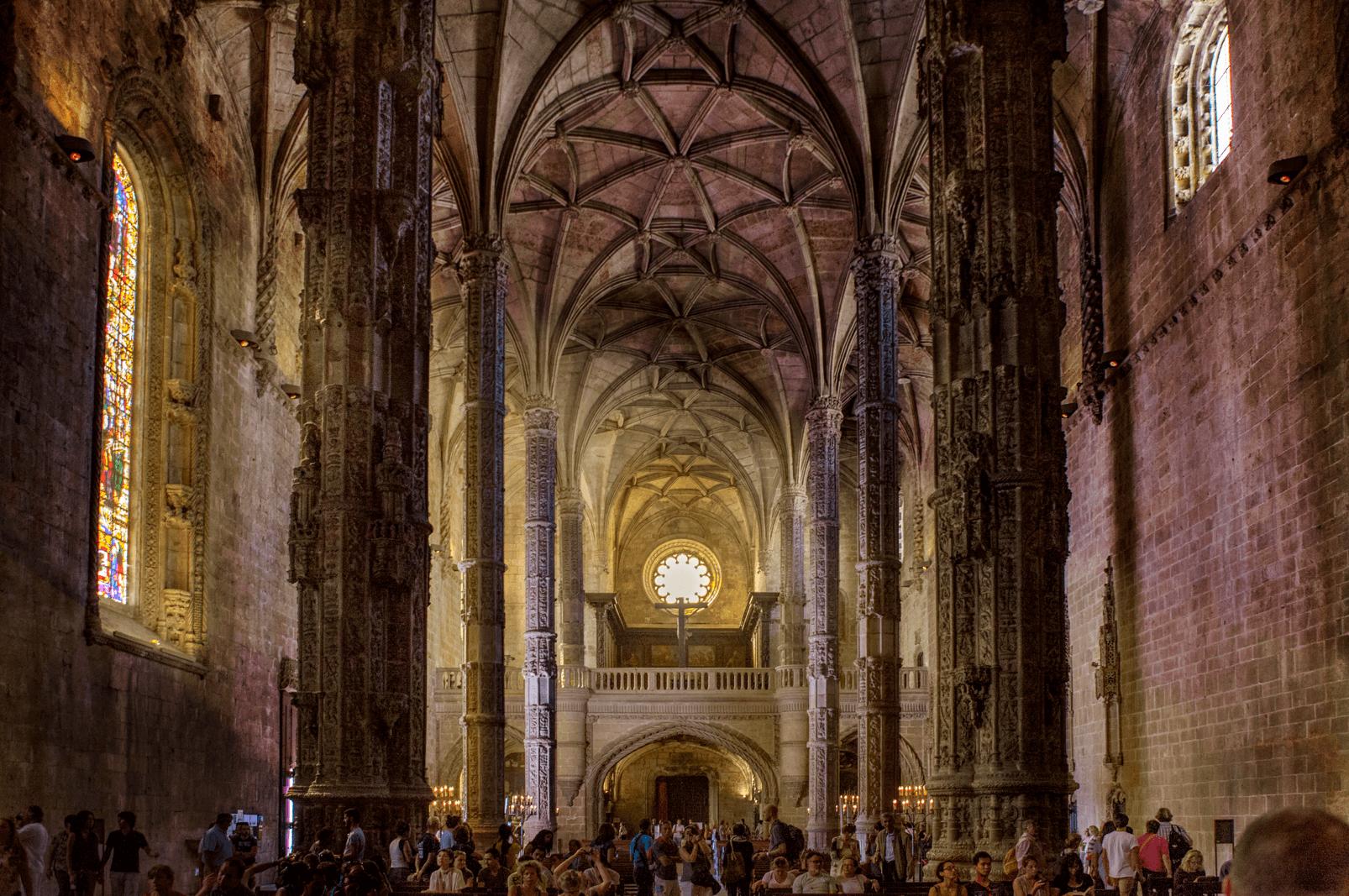 Avant/Après : Monastère des Hiéronymites, Belem (Portugal)