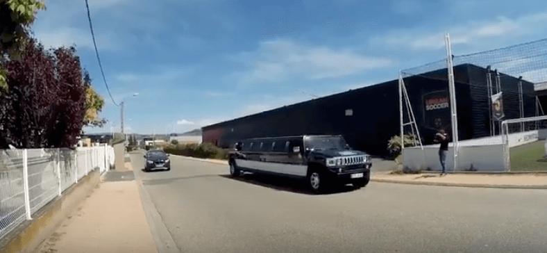 Limousine Hummer, Bubble Bump, enregistrement et montage de config – Vlog#21