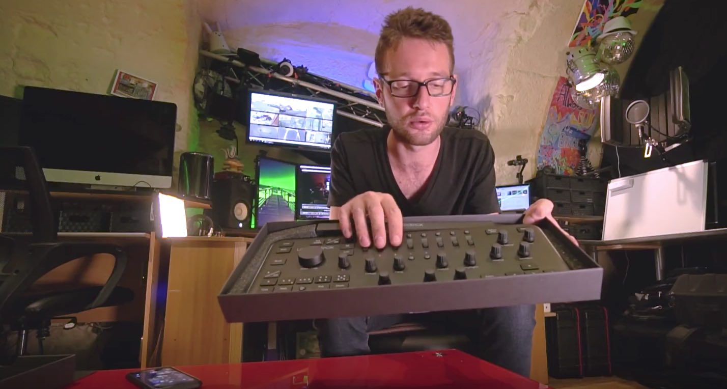 LoupeDeck, contrôleur(s) LightRoom, unboxing & test – Vlog#47