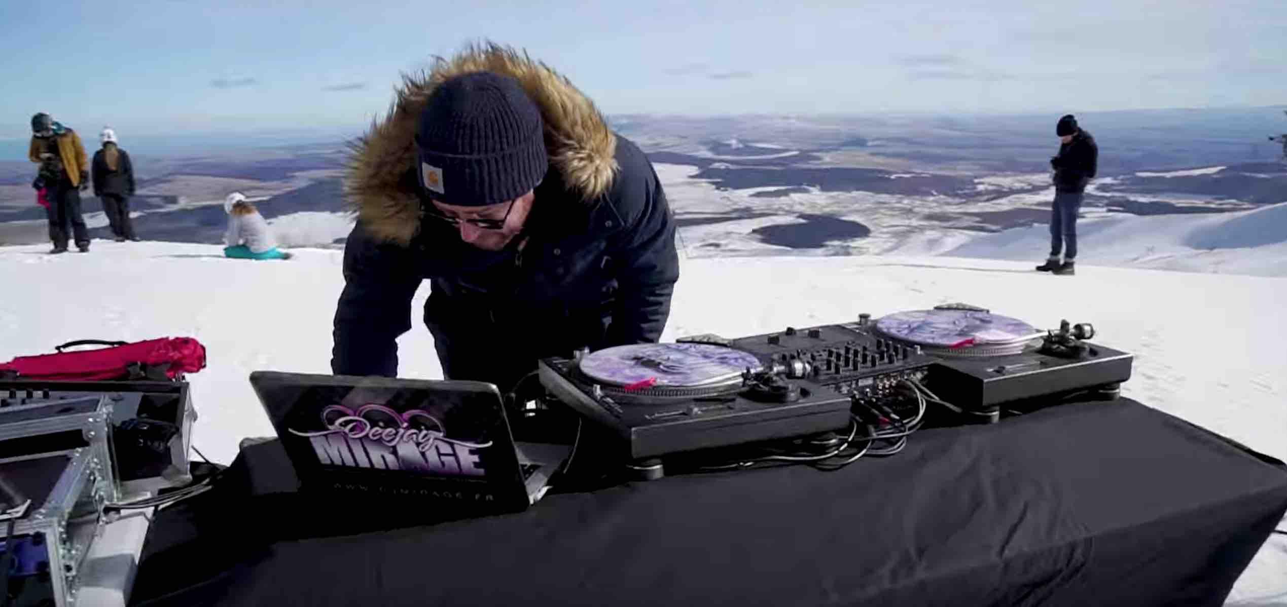 DJ MIRAGE + Max Lemer @ Sommet Super-Besse